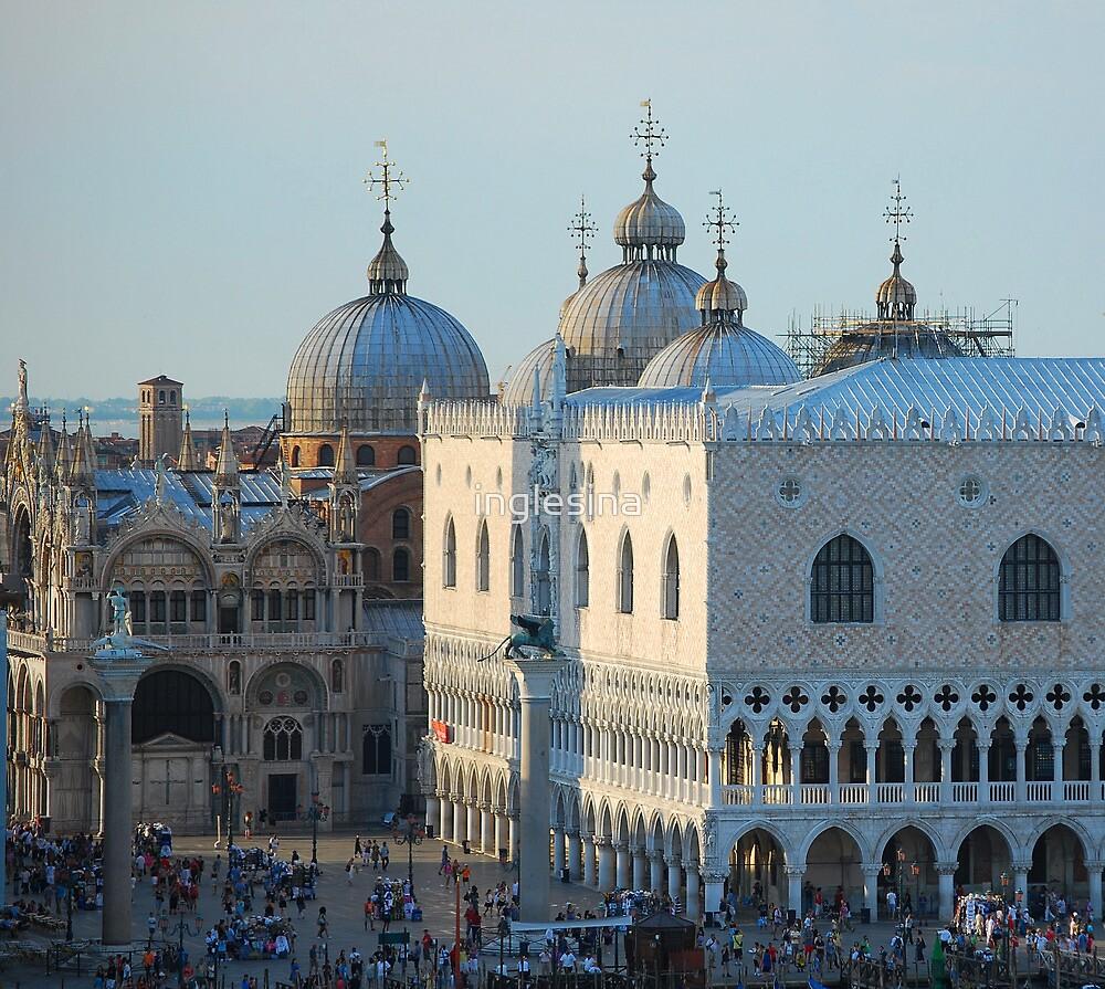 St Mark's Domes, Venice by inglesina