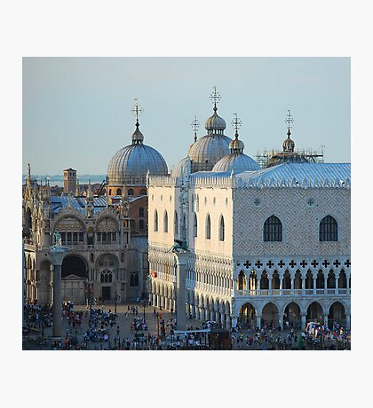 St Mark's Domes, Venice Photographic Print