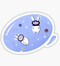 Space Bunnies Sticker