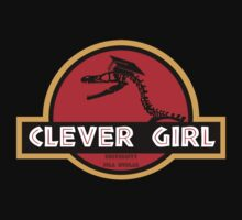 TShirtGifter Presents: Clever Girl
