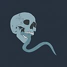 Skull Tongue [Blue] (Other Colours Available) by Styl0