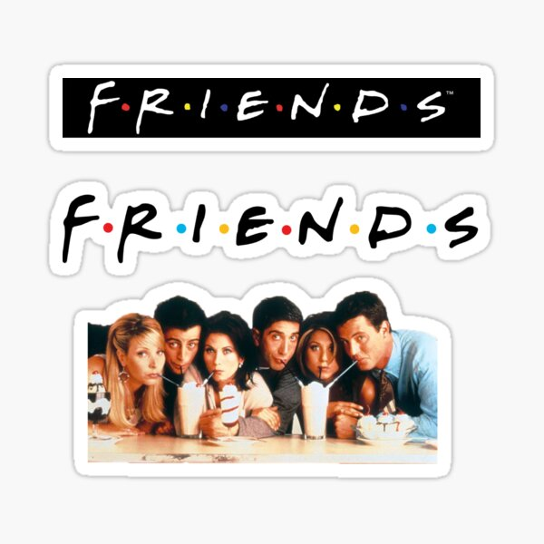 Friends Sticker Pack 1 Sticker