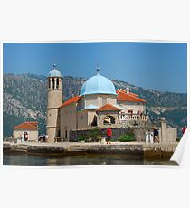 Our Lady of the Rock, Perast, Montenegro Poster