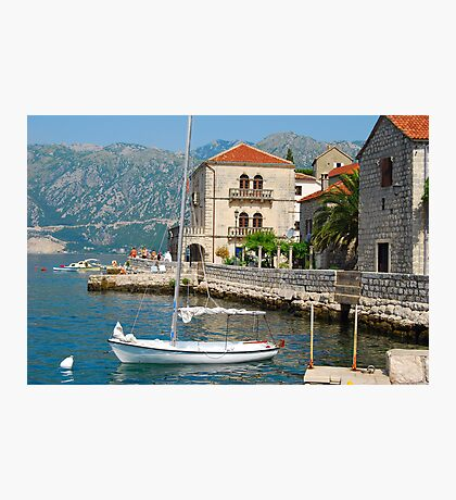 Perast, Montenegro Photographic Print