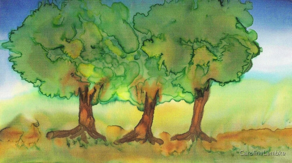 Three Strong Trees by CarolineLembke