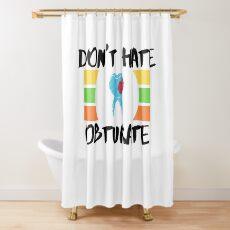 Restorative Dentist Dental filling Shower Curtain