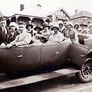 Charabanc, Katoomba, NSW, Australia (1930) by Adrian Paul