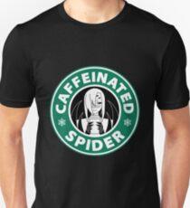 """Rachnera """"Caffeinated Spider"""" Logo T-Shirt"""