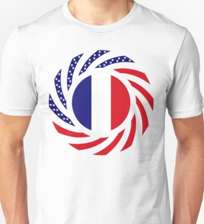 French American Multinational Patriot Flag Series T-Shirt