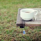 Have some tea and let's talk about happy things. by the-novice