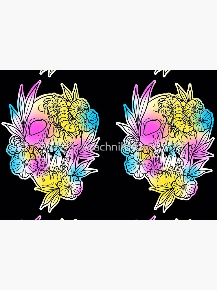 Crystal skull fade  by ArachniKat