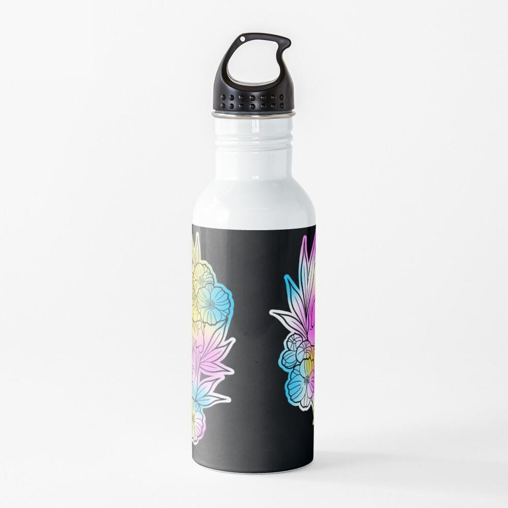 Crystal skull fade  Water Bottle