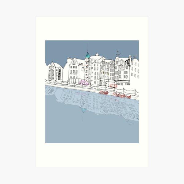Leith Waterfront Art Print