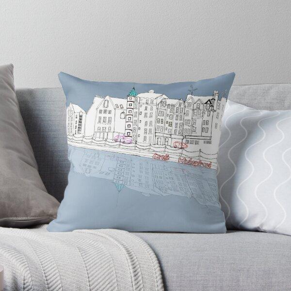 Leith Waterfront Throw Pillow