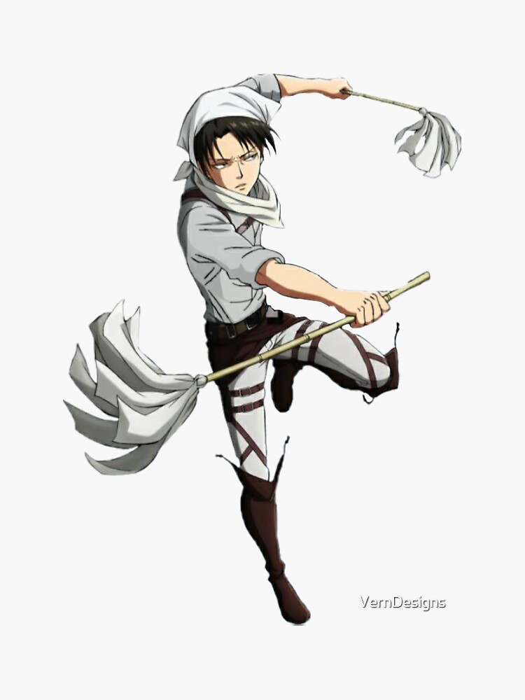 Cleaning Captain Levi by VernDesigns