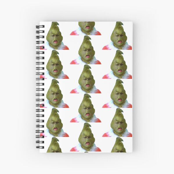 Grinch Crying  Spiral Notebook