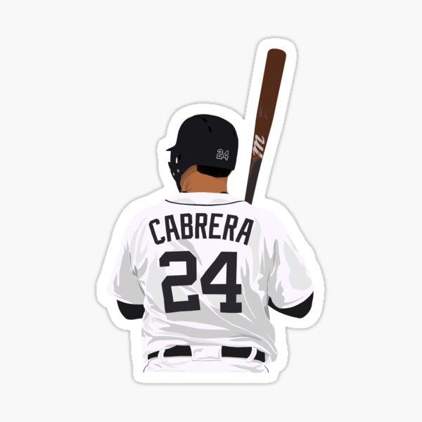 Miguel Cabrera 24 Sticker