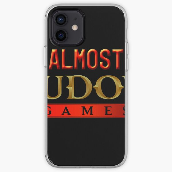 Almost Nudous Games Logo iPhone Soft Case