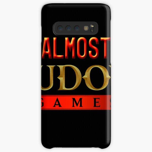 Almost Nudous Games Logo Samsung Galaxy Snap Case
