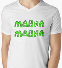 Mahna Mahna Mens V-Neck T-Shirt