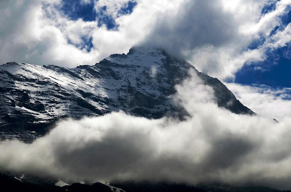 Eiger Nordwand by Billboeing