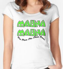Mahna Mahna Women's Fitted Scoop T-Shirt