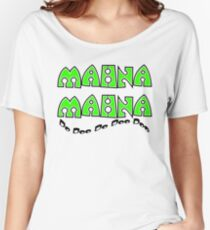Mahna Mahna Women's Relaxed Fit T-Shirt