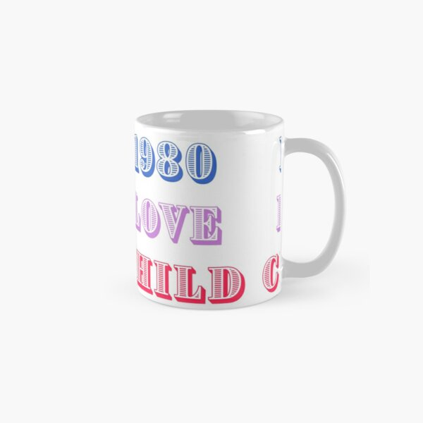 1980 Love Child Classic Mug
