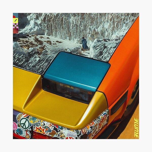 Hi This Is Flume (Mixtape) - Album Cover Photographic Print