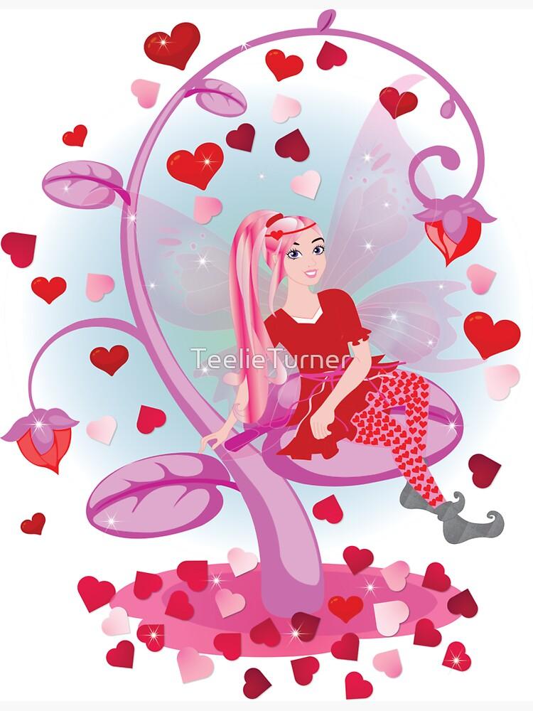 Sugarsnap-The Valentine Card Fairy™ by TeelieTurner