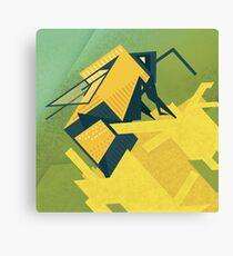 The Rhombus Bombus Canvas Print