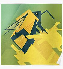 The Rhombus Bombus Poster