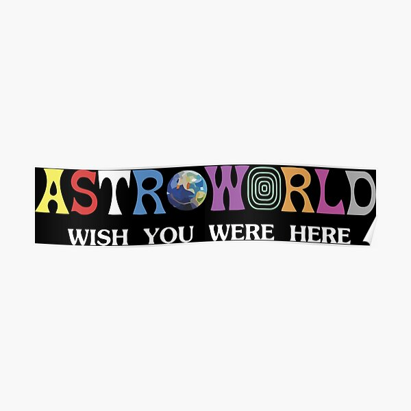 Astroworld-Merch Poster