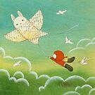 Bunny Kite by naokosstoop