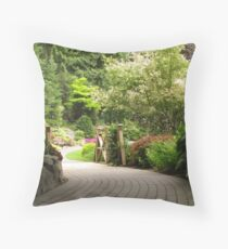 Minter Gardens 1 Throw Pillow