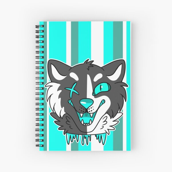 Cyan  Spiral Notebook