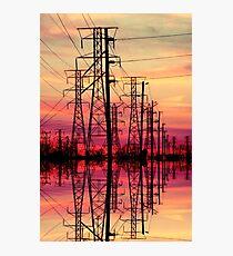 Powerful sunset. Photographic Print