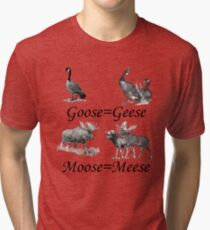 Moose Meese Tri-blend T-Shirt