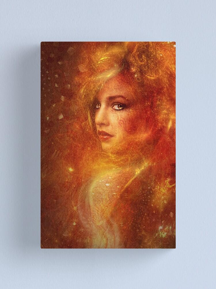 Alternate view of High Priestess Fire Canvas Print