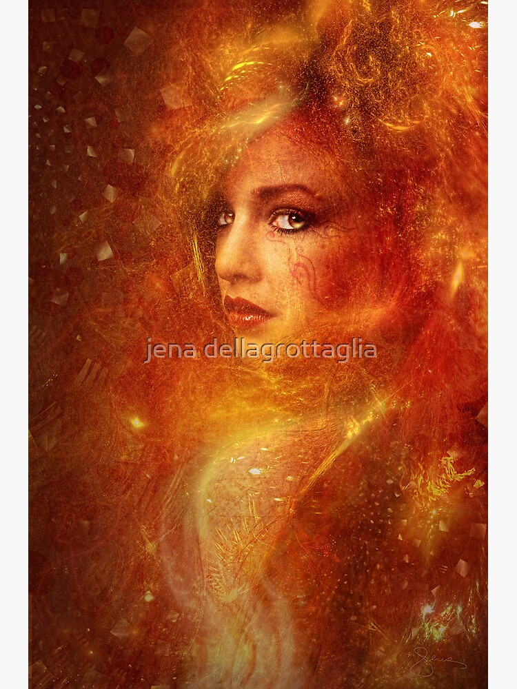 High Priestess Fire by autumnsgoddess