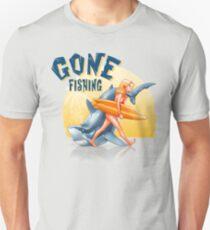 Gone Fishing Unisex T-Shirt