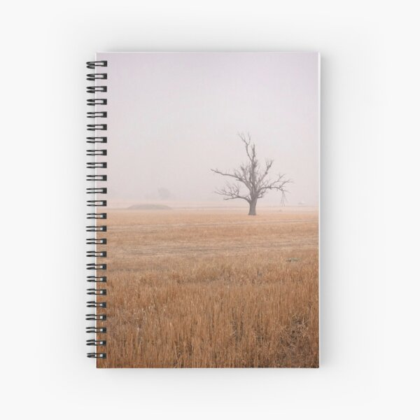 Tree In The Haze Spiral Notebook