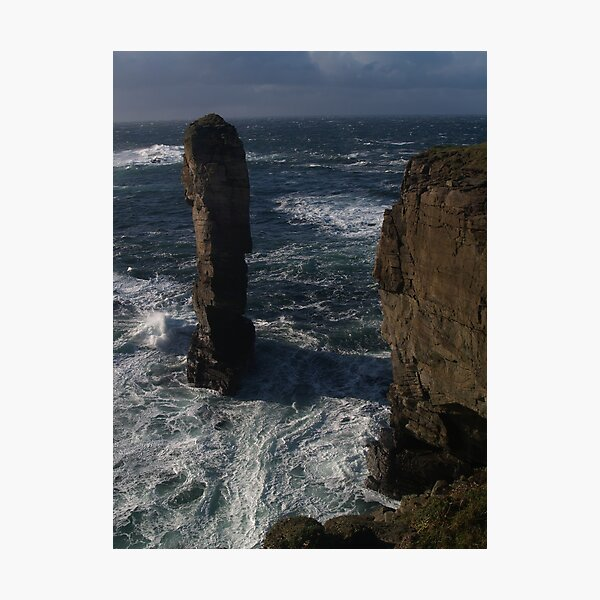 Yesnaby Castle, Orkney Photographic Print