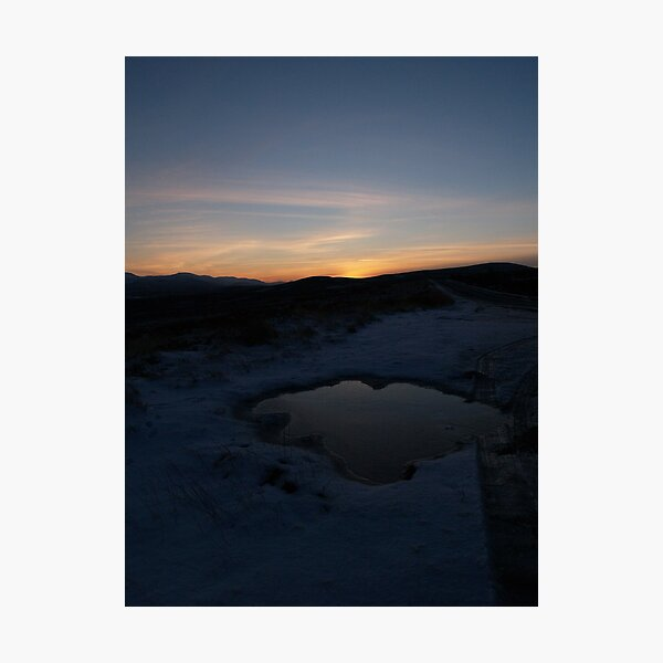 Puddle Photographic Print