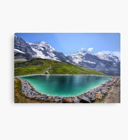 Alpen Emerald Metal Print