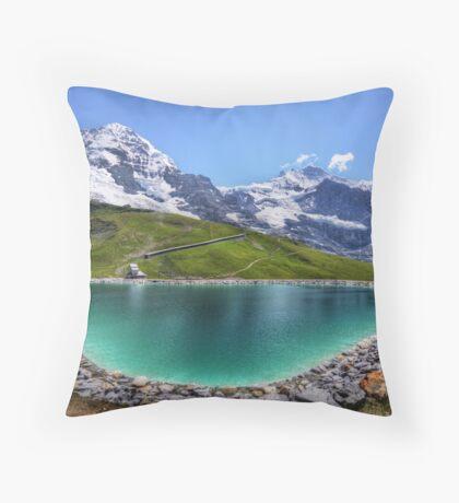 Alpen Emerald Throw Pillow