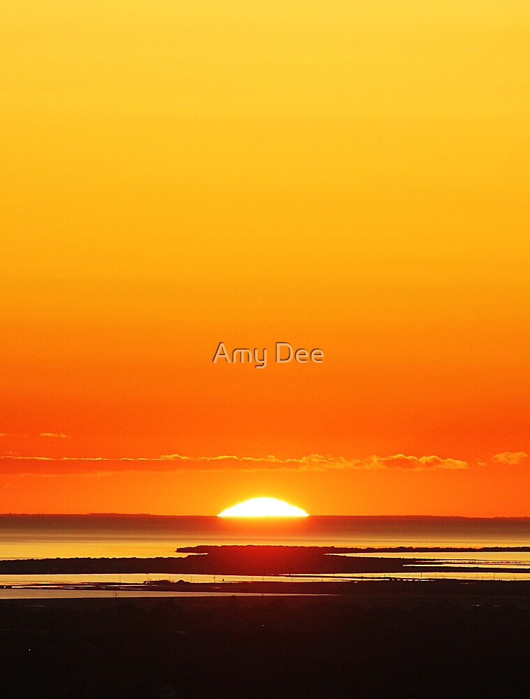 Setting Sun by Amy Dee