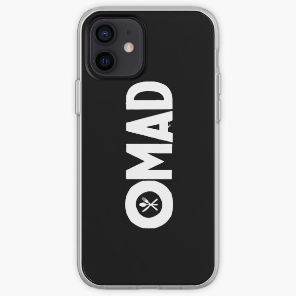 OMAD: One Meal a Day (Black) iPhone Soft Case