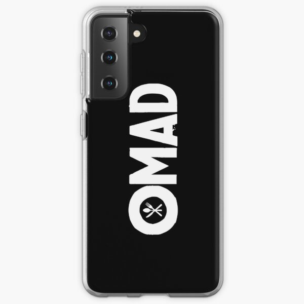 OMAD: One Meal a Day (Black) Samsung Galaxy Soft Case