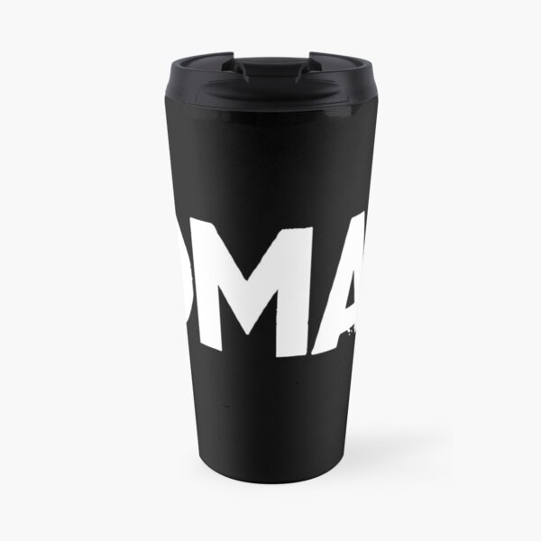 OMAD: One Meal a Day (Black) Travel Mug